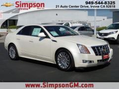 12 Cadillac CTS Sedan Performance