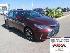 2017 Toyota Avalon 4D XLE Premium Car