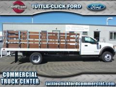2017 Ford Super Duty F-550 DRW XL Scelzi 16' Stake Bed Diesel