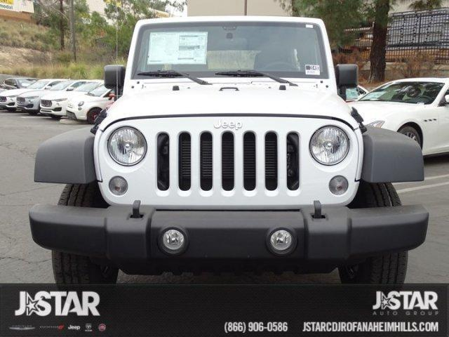 2018 Jeep WRANGLER JK UNLIMITED SPORT 4X4