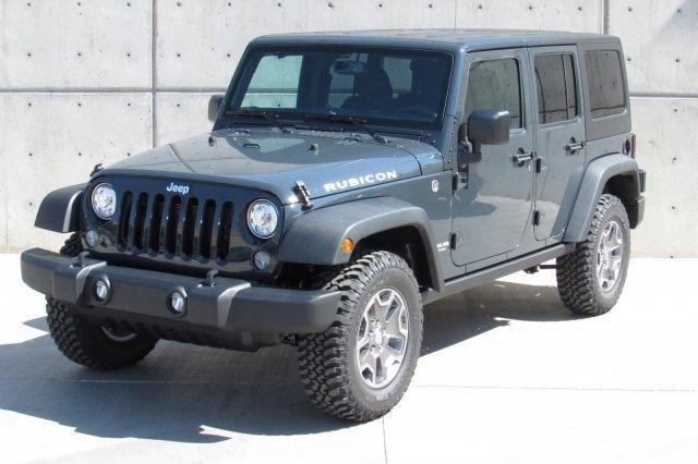 2017 JEEP WRANGLER UNLIMITED RUBICON 4X4