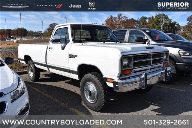 1990 Dodge D350 & W350