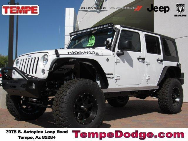 2017 JEEP WRANGLER UNLIMITED SPORT S 4X4