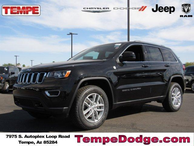 new 2018 jeep grand cherokee laredo e 4x4 buy a new chrysler new jeep and new ram sales near. Black Bedroom Furniture Sets. Home Design Ideas