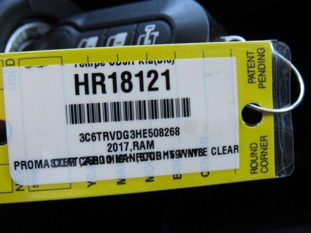 2017 RAM PROMASTER® 2500 CARGO VAN HIGH ROOF 159 WB