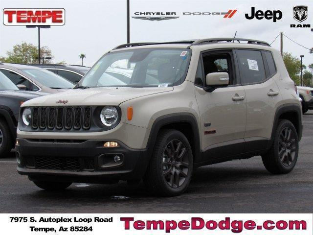 2016 JEEP RENEGADE 75TH ANNIVERSARY EDITION FWD